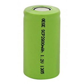 Industrial battery Sub C NiMh 2800
