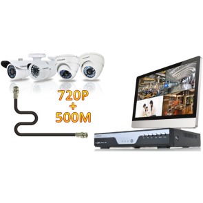 2 Megapixel 1080P AHD IR Outdoor Day/Night Bullet Security Camera QH-4231OC-N