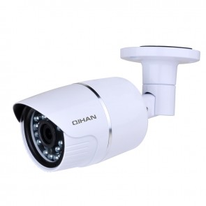 H.264 IP Waterproof Camera, 30FPS@1080P, Dual Streams, ONVIF, With IR-CUT and local SD card writer