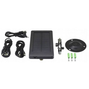 Solarni charger with 5.5x2.1 output and 2500mAh battery