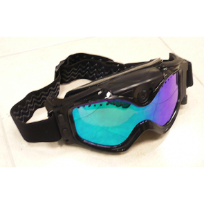 Skigoggles with HD camera.