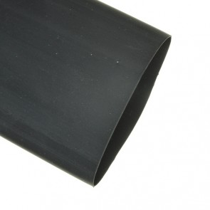 Heat Shrinkable Tube with adhesive and double wall Ø 38,1 mm BLACK