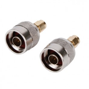 Sma adapter n-connector gold plated