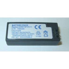 Battery for digital cameras Sony ( NP-FC10, NP-FC11 )