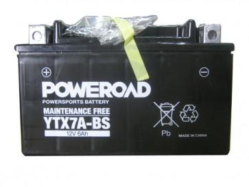 Moto akumulator YTX7A-BS (12V 6Ah 150 x 87 x 93)