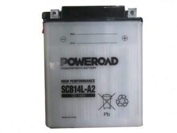 Moto akumulator SYB14L-A2 (12V 14Ah 134 x 89 x 164)