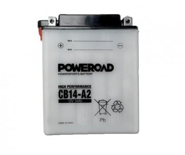 Moto akumulator YB14-A2 (12V 14 Ah 134x89x164)