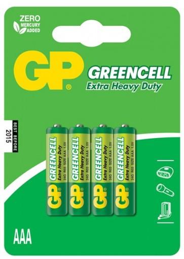 Greencell AAA GP baterija 24G (R03) - 4 kosi