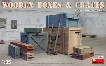 Leseni zaboji in škatle