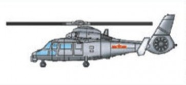 NINI military helicopter Z-9