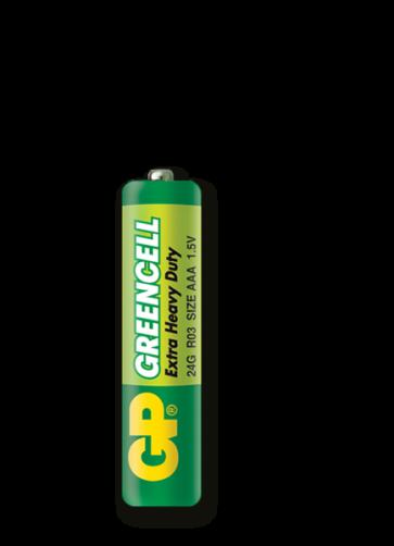 Greencell AAA GP baterija 24G (R03)
