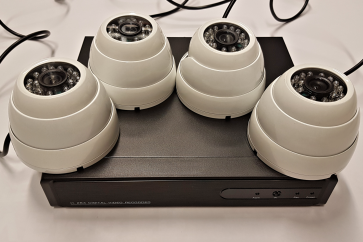 Komplet 4x kamere + snemalnik 4 kan. 650TVL