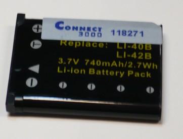 Baterija za digitalne kamere Olympus ( LI-40B, LI-42B ), Nikon