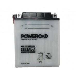 Akumulator za motor CB12AL-A POWEROAD (Standardni, 12V 12 Ah)