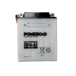 Akumulator za motor CB14-A2 POWEROAD (Standardni, 12V 14 Ah)
