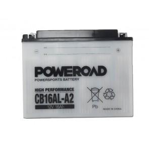 Akumulator za motor CB16AL-A2 POWEROAD (Standardni, 12V 16 Ah)