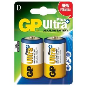 Ultra Alkalna Plus D GP baterija 13AUP (LR20) 2 kosa