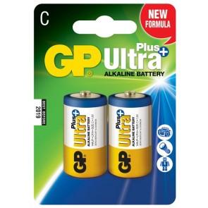Ultra Alkalna Plus C GP baterija 14AUP (LR14) 2 kosa