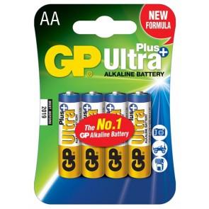 Ultra Alkalna Plus AA GP baterija 15AUP (LR6) 4 kosi