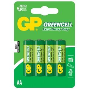 Greencell AA GP baterija 15G (R6P) - 4 kosi