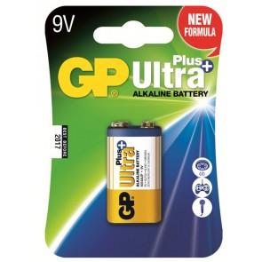 Ultra Alkalna Plus 9V GP baterija 1604AUP (6LF22)