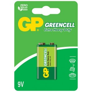 Greencell 9V GP baterija 1604G (6F22)