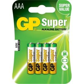 Super Alkalna AAA GP baterija 24A (LR03) 4 kosi