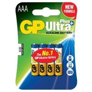 Ultra Alkalna Plus AAA GP baterija 24AUP (LR03) 4 kosi
