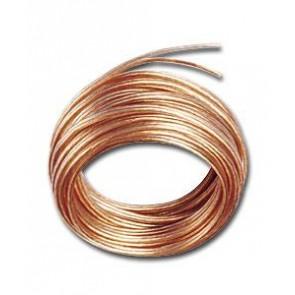 Transparentni kabel za zvočnike 2x1