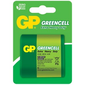 Greencell 4.5V GP baterija 312G (3R12)