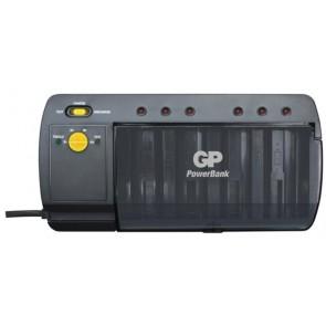 Univerzalni polnilec polnilnih baterij - NiMh AA/AAA/C/D/9V GP PB S320