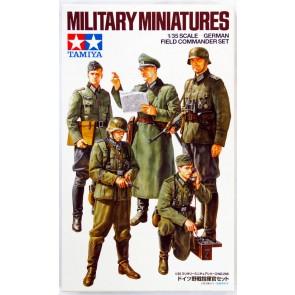 Set Nemških vojakov s poveljnikom