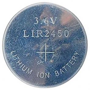 LiIon polnilna gumb baterija LIR 2450H