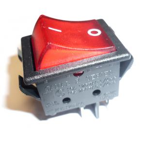 Vgradno 2 pozicijsko stikalo, večje dimenzije (rdeče)