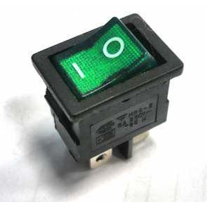 Vgradno 2 pozicijsko stikalo (zeleno)