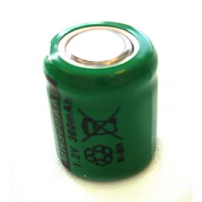 Industrijska 1/3 AA 300 mAh Ni-Mh polnilna baterija