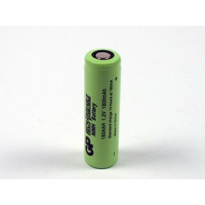 Industrijska AA 1800 mAh Ni-Mh polnilna GP baterija