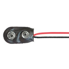 Priključek za 9V baterijo in nosilce baterij
