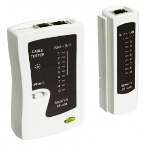Preizkuševalec mrežnih kablov CAT 5/6 tester ISDN