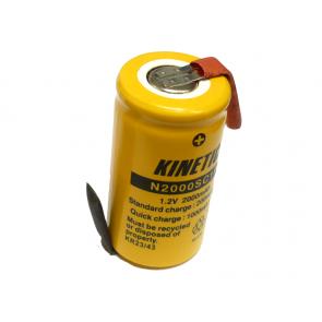 Industrijska SUBC 2000 mAh Ni-Cd polnilna baterija s pini