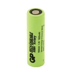 Industrijska AA 1600 mAh Ni-Mh polnilna GP baterija - GP160AAH