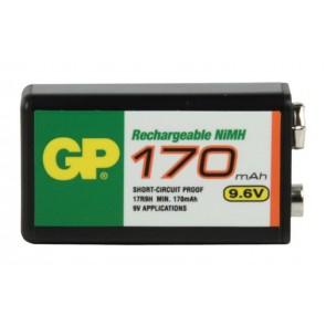 9V (9,6) 170 mAh Ni-Mh polnilna GP baterija