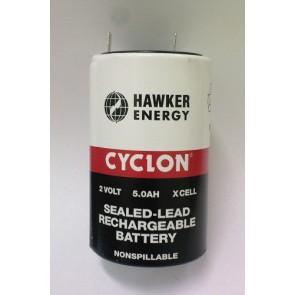 Hawker svinčen akumulator 2V / 5 Ah
