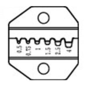 Nadomestne čeljusti za klešče CP371 - Votlice