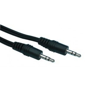 Audio kabel 3,5mm st. jack vtič / 3,5mm st. jack vtič 0.5m