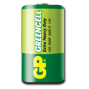 Greencell D GP baterija 13G (R20P)