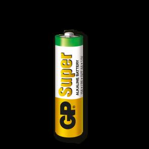 Super Alkalna AA GP baterija 15A (LR6)