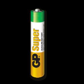 Super Alkalna AAAA GP baterija 25A (LR8D425)