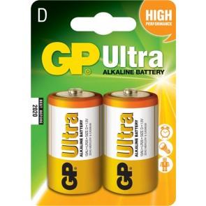 Ultra Alkalna D GP baterija 13AU (LR20) 2 kosa