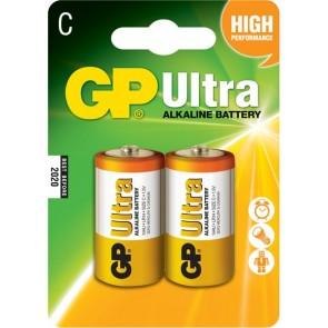 Ultra Alkalna C GP baterija 14AU (LR14) 2 kosa